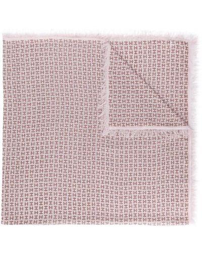 Розовый шарф Hemisphere