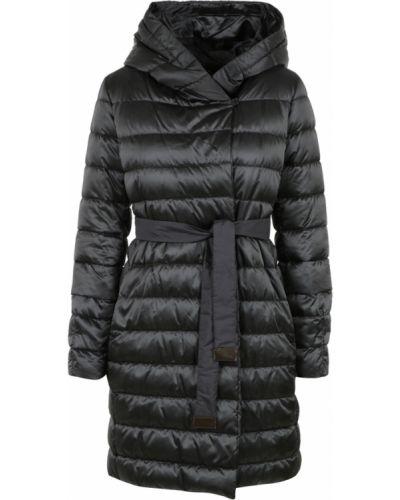 Czarny płaszcz oversize Max Mara