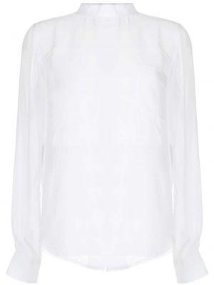 Белая блузка с длинными рукавами на пуговицах Comme Des Garçons Comme Des Garçons