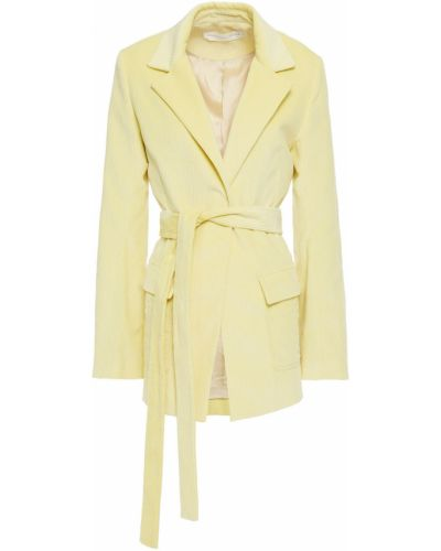 Желтый пиджак с подкладкой вельветовый Victoria, Victoria Beckham