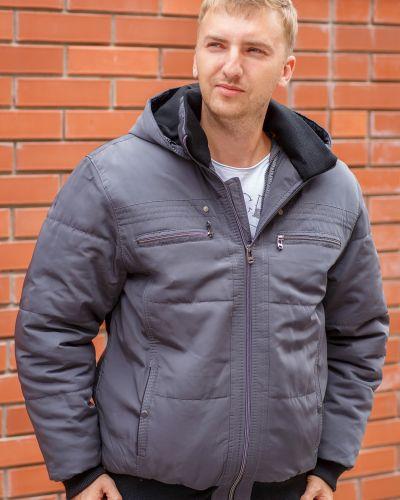 Куртка с капюшоном - синяя Ugos