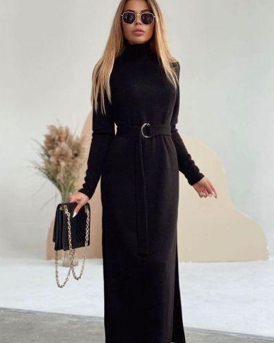 Платье - черное 0101 Brand