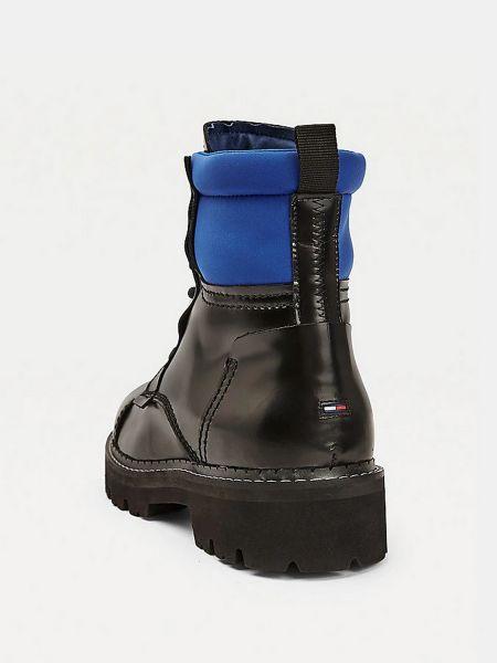 Черные ботинки Tommy Hilfiger