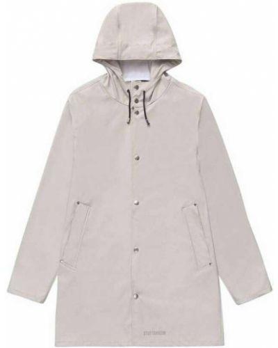 Beżowy płaszcz przeciwdeszczowy Stutterheim
