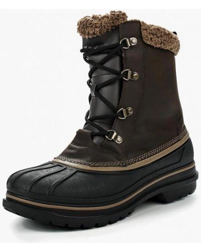 Ботинки осенние кожаные Crocs