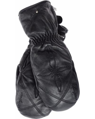Кожаные перчатки черный Bogner