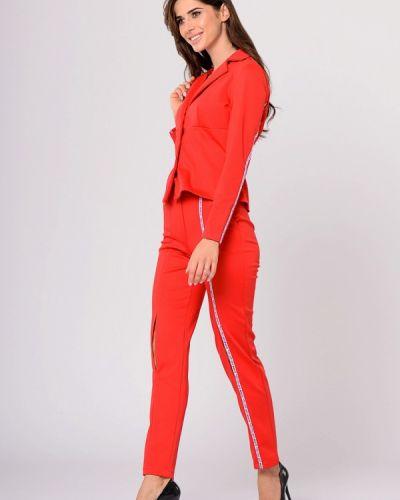 Брючный костюм красный Lilove