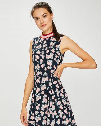 Платье мини из вискозы расклешенное Review