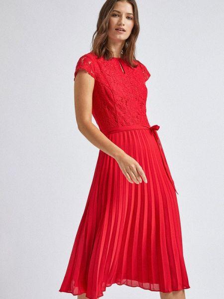 Вечернее платье красный весеннее Dorothy Perkins