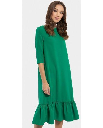 Платье миди зеленый Vladi Collection