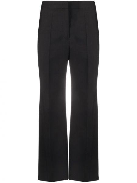 Укороченные брюки с завышенной талией расклешенные Jil Sander