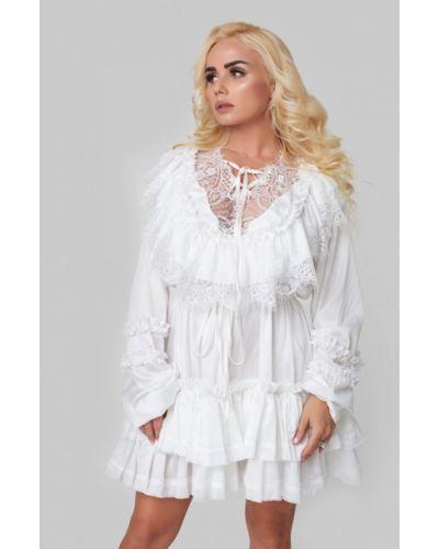 Коктейльное платье осеннее Luxlook