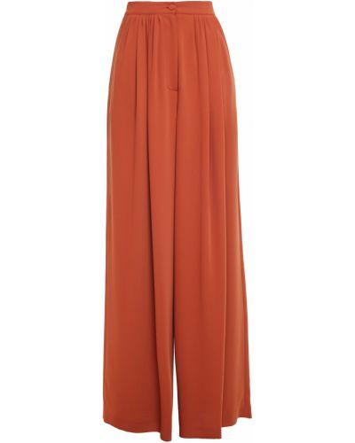 Текстильные брюки с карманами свободного кроя Sara Battaglia