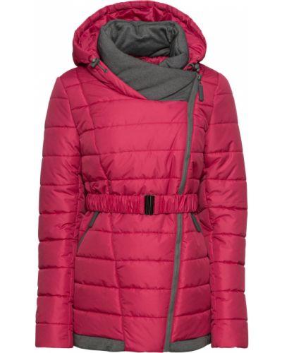 Зимняя куртка с капюшоном с карманами Bonprix