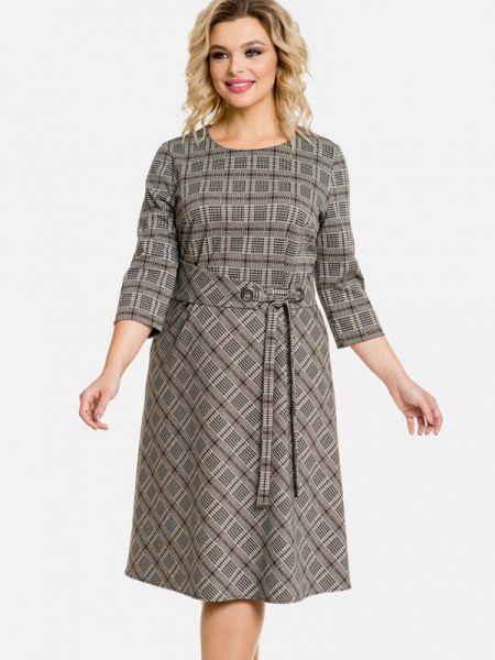 Бежевое повседневное платье Venusita