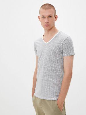 Белая футболка осенняя Hopenlife