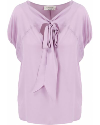 Różowa koszulka Anna Molinari