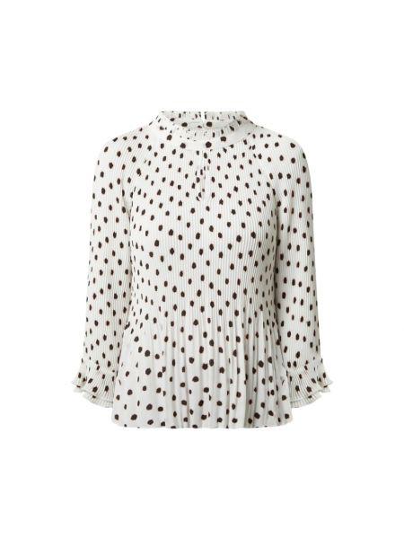 Czarna bluzka rozkloszowana z raglanowymi rękawami S.oliver Black Label