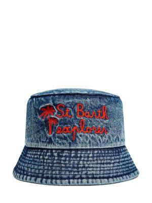 Синие шляпа Mc2 Saint Barth