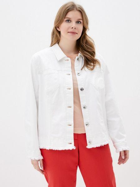 Джинсовая куртка весенняя белая Samoon By Gerry Weber