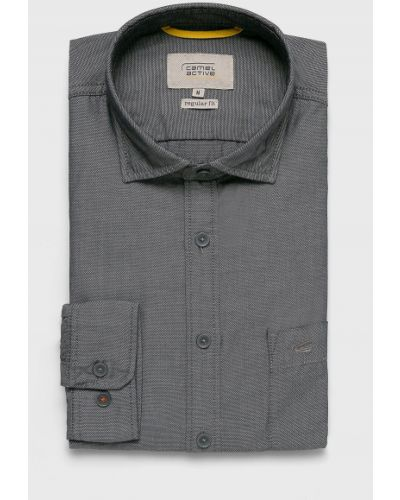 Рубашка с длинным рукавом с карманами из верблюжьей шерсти Camel Active