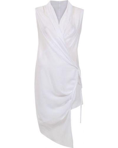 Блузка без рукавов с запахом с поясом Uma   Raquel Davidowicz