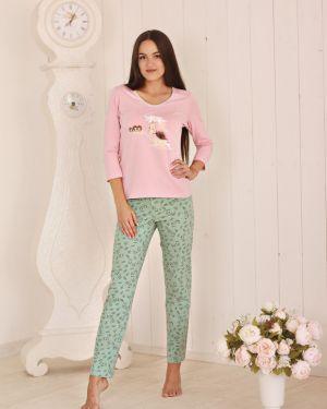 Пижама с брюками с рукавом три четверти пижамный золотое руно