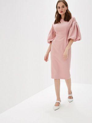 Платье розовое прямое Self Made