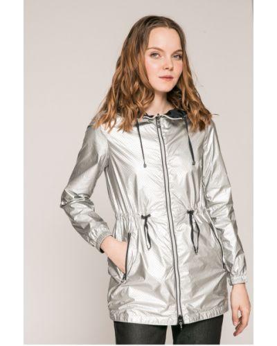 Утепленная куртка с капюшоном прямая Geox
