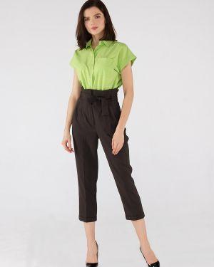 Блузка без рукавов на пуговицах с манжетами Remix
