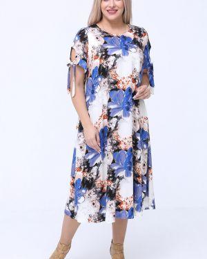 Платье мини на пуговицах платье-сарафан Luxury