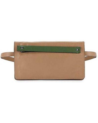Кожаный ранец на молнии с карманами Valentino Garavani