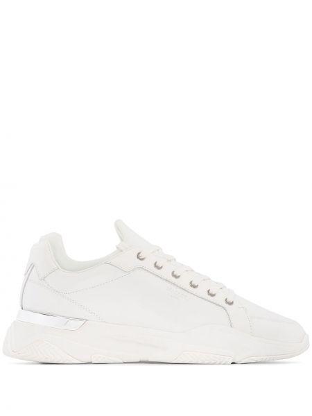 Серебряные кроссовки на каблуке Mallet Footwear
