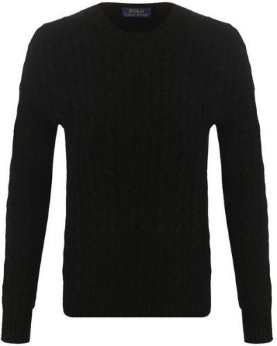Черный свитер кашемировый Polo Ralph Lauren
