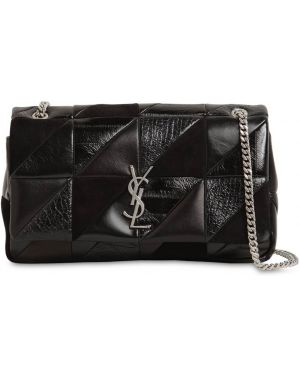 Czarna torebka na łańcuszku skórzana Saint Laurent