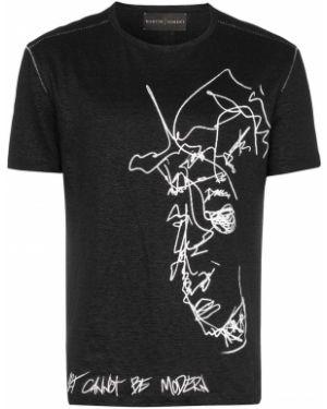 Черная футболка Martin Diment