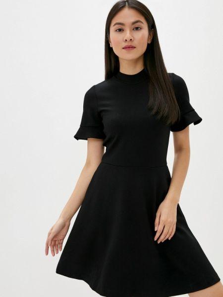 Повседневное платье французский черное French Connection