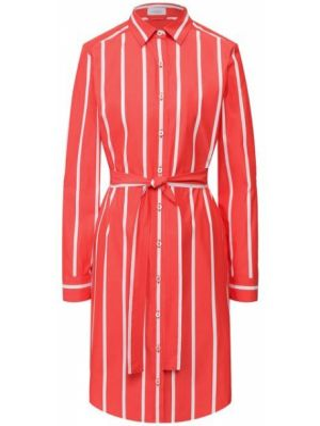 Хлопковое красное платье Van Laack
