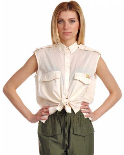 Шелковая рубашка - бежевая Hotel Particulier