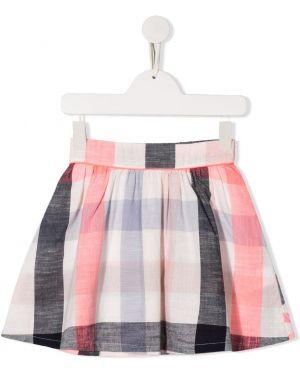 Ватная хлопковая розовая юбка Billieblush