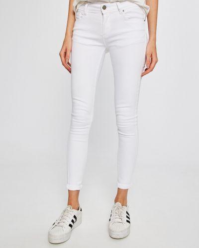 Белые джинсы-скинни Answear