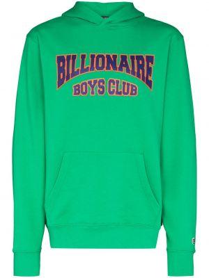 Зеленая толстовка с принтом Billionaire Boys Club