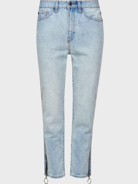 Хлопковые джинсы на молнии Armani Exchange