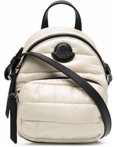 Beżowy plecak Moncler