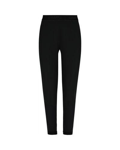 Свободные черные брюки свободного кроя Craft
