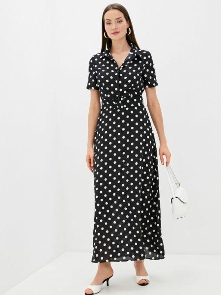 Черное джинсовое платье Sweewe