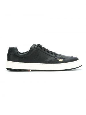 Черные кожаные кроссовки Osklen
