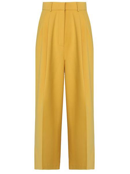 Укороченные брюки с завышенной талией с поясом Laroom