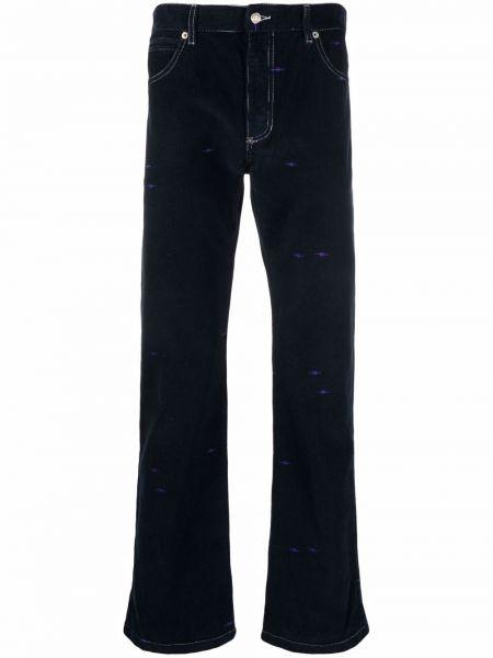 Niebieskie klasyczne mom jeans Phipps