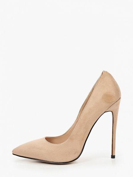 Замшевые туфли лодочки бежевый Diora.rim